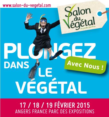 FEVRIER-2015 - Salon du Végétal à ANGERS