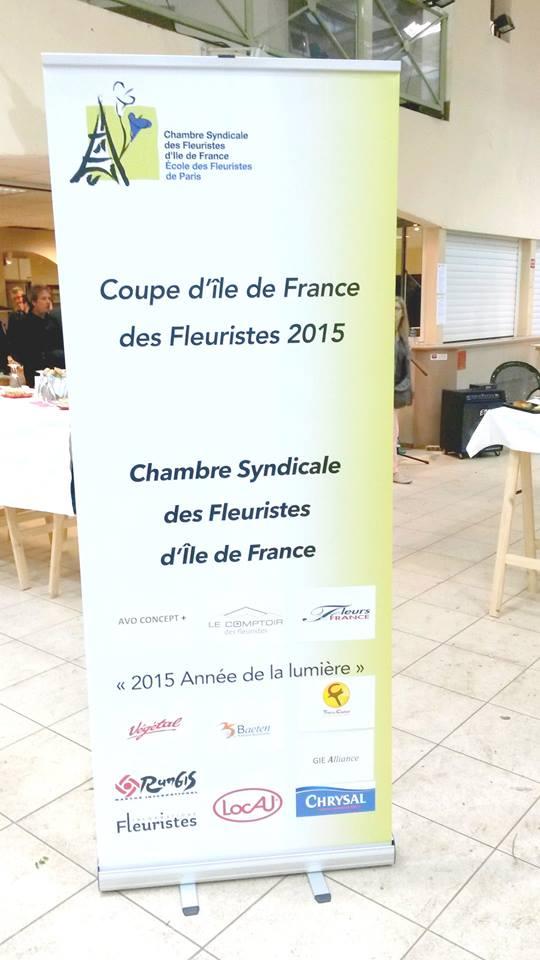 AVRIL-2015 - Partenaire - Coupe Ile de France des Fleuristes
