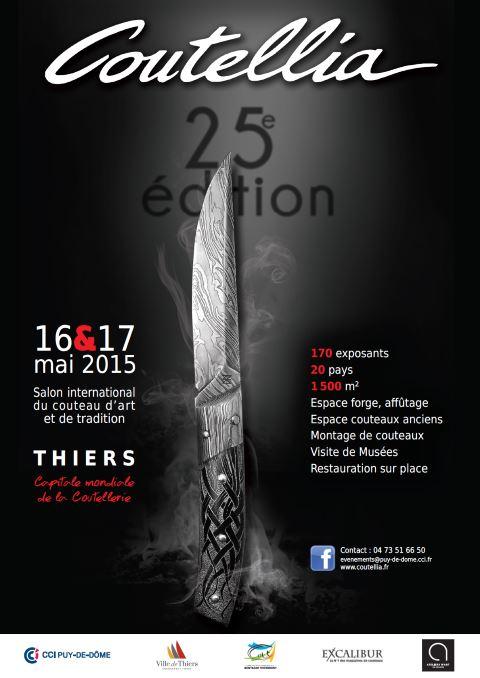 MAI-2015 - Salon Coutellia à THIERS