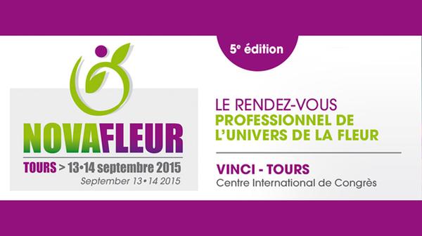 SEPTEMBRE-2015 - Salon Novafleur à TOURS