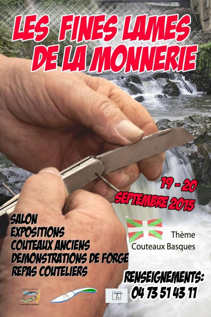 SEPTEMBRE-2015 - Salon des Fines Lames à LA MONNERIE